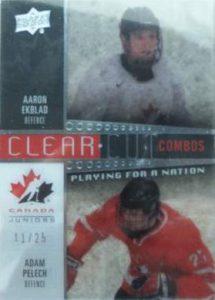 Canada Clear Cut Combo Aaron Ekblab Adam Pelech