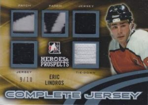 Heroes & Prospects Complete Jerseys Hero Eric Lindros