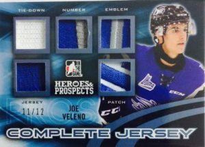 Heroes & Prospects Complete Jersey Prospect Joe Veleno