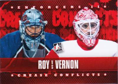 Enforcers II Crease Conflicts Patrick Roy vs Mike Vernon