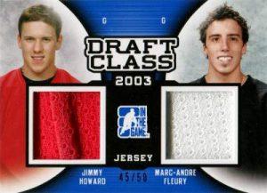Draft Prospects Draft Class Duals Jimmy Howard, Marc Andre Fleury