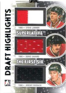 Superlative Draft Highlights Larmer, Savard, Roenick