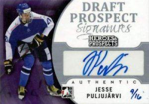 Heroes & Prospects Draft Prospect Signatures Jesse Puljujarvi