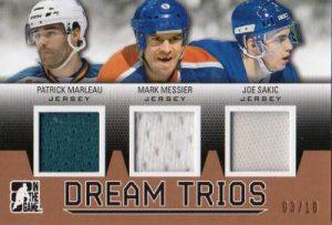 Draft Prospect Dream Trios Patrick Marleau, Mark Messier, Joe Sakic