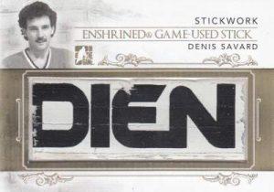 Stickwork Enshrine Game Used Stick Denis Savard