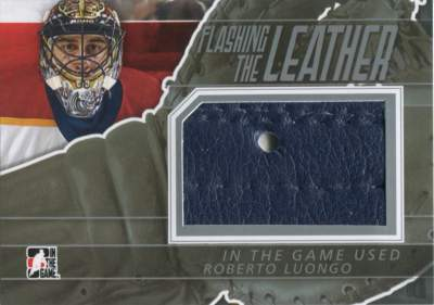 Game Used Flashing the Leather Luongo