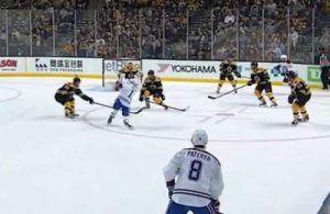 Gallagher Scores on Bruins