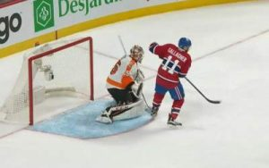 Gallagher Winner vs Flyers
