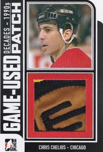 90s Game Used Chris Chelios