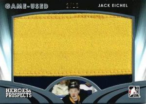 Heroes & Prospects Game Used Jersey Jack Eichel