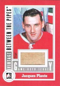 BTP Game Used Jersey Vintage Jacques Plante