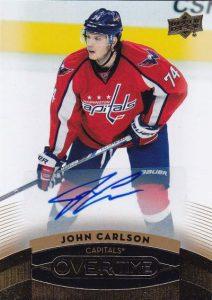 Wave 3 Veteran Autographs John Carlson