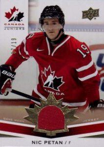 Canada Gold Jersey Nic Petan