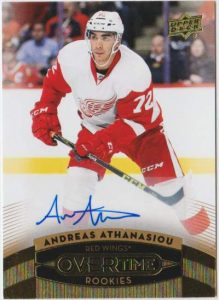 Wave 3 Rookie Auto Andreas Athansiou