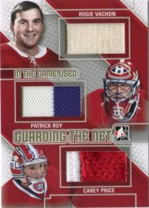 Game Used Guarding the Net Vachon, Roy, Price