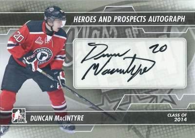 H&P Autographs Duncan MacIntyre