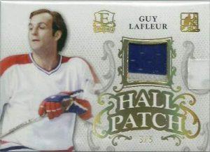 Enshrined Hall Patch Guy Lafleur