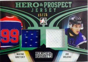 Heroes & Prospects Hero and Prospect Jersey Wayne Gretzky, Joe Velano
