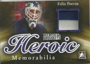 Heroes & Prospects Heroic Memorabilia Felix Potvin
