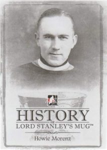 Lord Stanley's Mug History of Lord Stanley's Mug Howie Morenz