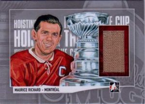 Lord Stanley's Mug Hoisting the Cup Limited Maurice Richard
