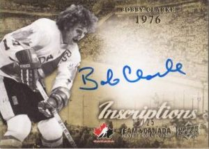 Master Collection Inscriptions Bobby Clarke