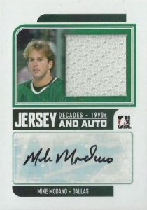 90s Jersey Auto Mike Modano