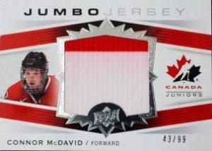 Canada Jumbo Swatch Connor McDavid