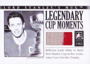Lord Stanley's Mug Legendary Cup Moments Jean Beliveau
