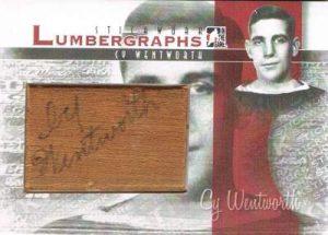 Stickwork Lumbergraphs Cy Wentworth