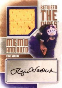 BTP Mem and Auto Rogie Vachon