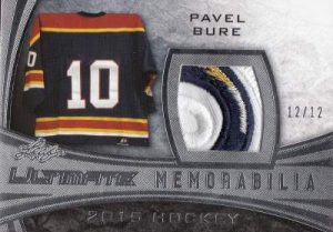 Leaf Ultimate Memorabilia Pavel Bure