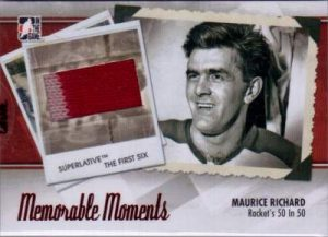 Superlative Memorable Moments Maurice Richard