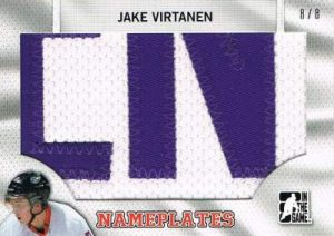 Draft Prospects Nameplates Jake Virtanen