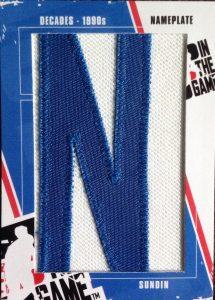 90s Nameplates Mats Sundin