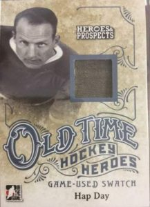 Heroes & Prospects Old Time Hockey Heroes Hap Day