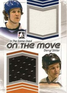 Game Used On the Move Sittler