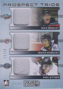 H&P Prospects Trios Nick Merkley, Travis Konecny, Paul Bittner