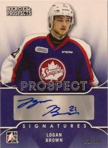 Heroes & Prospects Prospects Auto Logan Brown