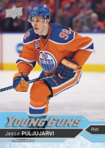 Jesse Puljujarvi Young Guns