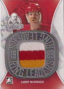 Lord Stanley's Mug Ring Leaders Lanny McDonald