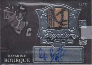 Enshrined Signature Blade Ray Bourque
