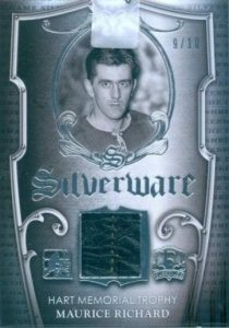 Enshrined Silverware Maurice Richard