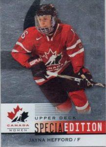 Canada Special Edition Jayna Heford