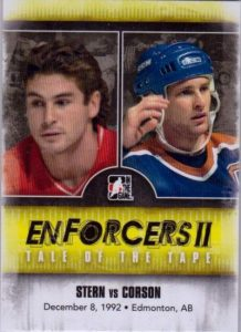 Enforcers II Tale of the Tape Ronnie Stern, Shayne Corson
