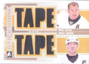 Stickwork Tape To Tape Mark Recchi, Mario Lemieux
