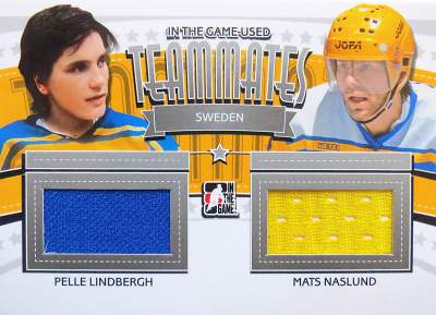 Game Used Teammates Limited Lindbergh, Naslund