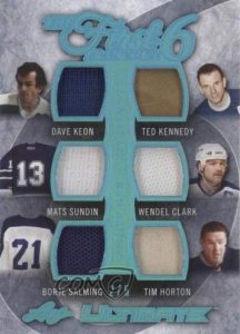 Leaf Ultimate The First 6 Franchise 6 Keon, Sundin, Salmimng, Kennedy, Clark, Horton