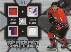 Draft Prospects Top Prospect Complete Jersey Hayden Fleury
