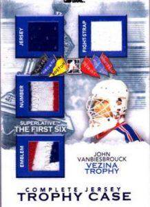 Superlative Trophy Case Complete Jersey John Vanbiesbrouck